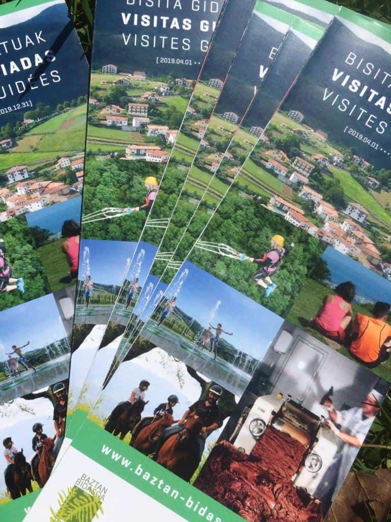 Visitas guiadas Baztan y Bidasoa 2019, pueblos, gastronomía, talo, txistorra, chocolate, Vía verde del Bidasoa