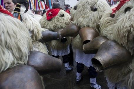 Joaldunak, carnaval, Valle de Baztan, Malerreka, Bidasoa