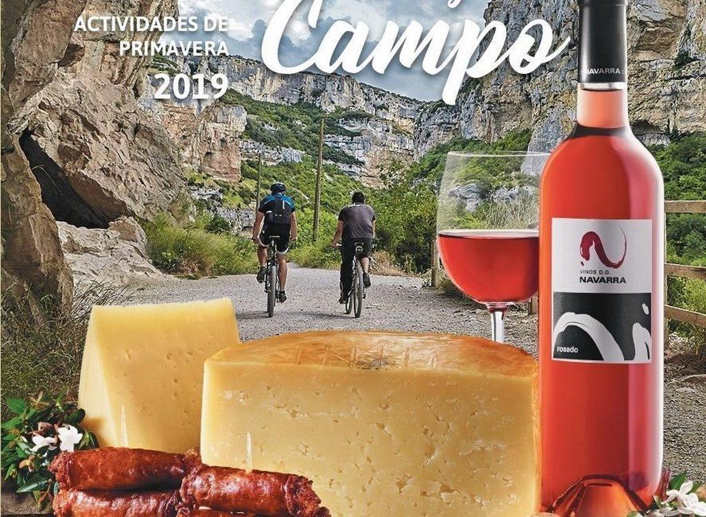 Sabores y campo, campaña de Turismo Navarra. Primavera 2019
