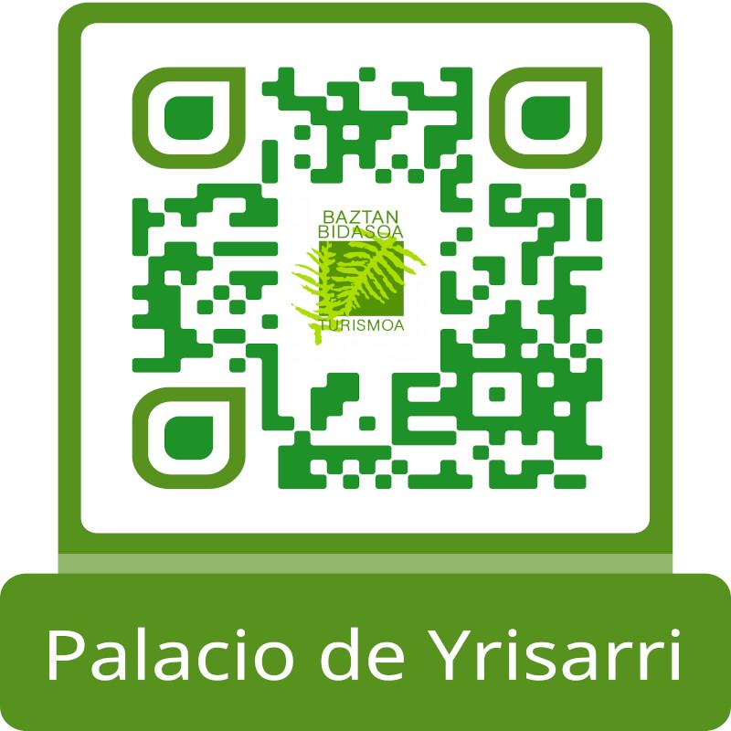 Palacio de Yrisarri menu