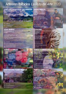 Kartela Artearen ibilbidea