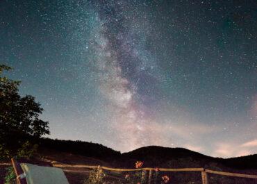 Lluvia de estrellas en Baztan-Bidasoa