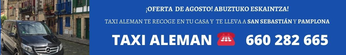 taxi aleman banner