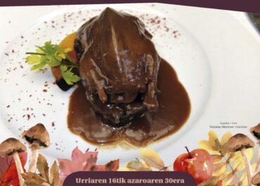 Ehiza Jardunaldi Gastronomikoak, Baztan-Bidasoa dastatzen
