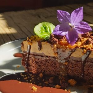 tarta de txokolate y moka. Donamaria'ko