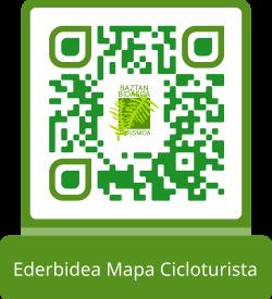 Ederbidea Mapa Cicloturista QR