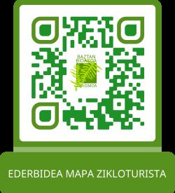 Ederbidea. Mapa Zikloturista QR